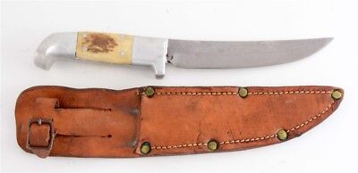 WW2 Ruana Fighting Knife -1943 Square Cut Old/Antique US WW II Collection/Rare