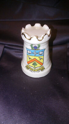 Vintage Arcadian Crested China CHELTENHAM Castle A&S Stoke-on-Trent.