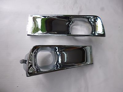 Vw Golf Gti Jetta Mk3 Front Bumper Air Ducts Aftermarket 1993-1999 Chrome