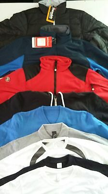 Lot 9 Articles Homme Taille S-Veste/doudoune/polos/pull/t-Shirt- Neuf