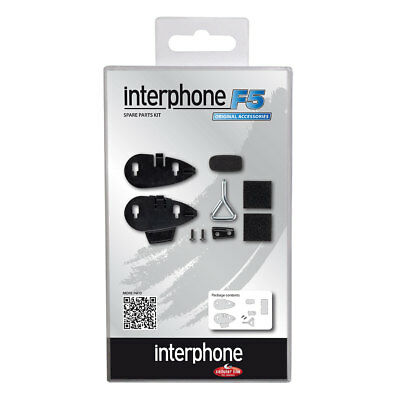 Motorcycle Interphone F5 Spare Parts Kit Black UK Seller