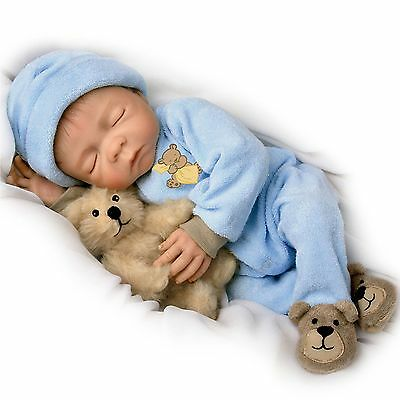 Ashton Drake - Sweet Dreams Baby Jacob Baby Boy Doll by Denise Farmer