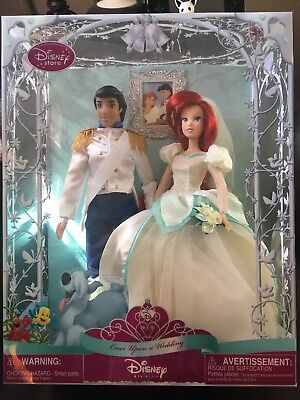 Disney Princess Once Upon A Wedding Ariel And Eric Little Mermaid Disney Store