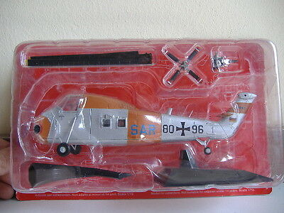 1/72 Ixo Altaya Helicopteros De Combate Sikorsky H-34G Combat Helicopter