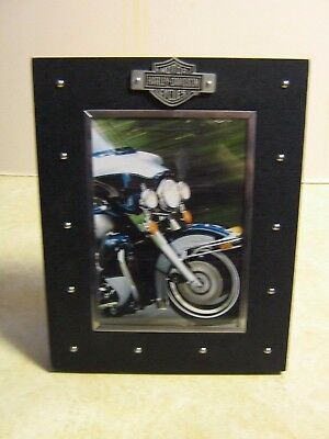 """Harley-Davidson Photo Frame - Holds 5"""" x 7"""" Picture"""