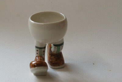 Walking Ware. Studio running eggcup.