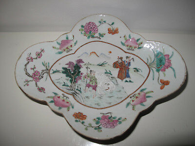 Chine Coupe Polylobée Ancienne China Ceramique Antic Old Ceramic