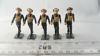 Solid Cast - 2Nd World War Painted Womens Fire Service Steel Helmets - See Below