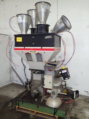 Maguire  Blender WSB 440 with metering hoppers