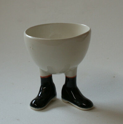 Walking Ware. Studio made. French set sugar bowl.