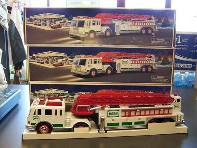 Lot Of 3 Hess Fire Trucks Year 2000 **FREE S&H**