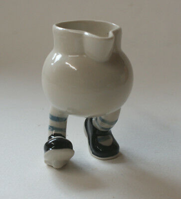 Walking Ware. Studio made. little running cream jug