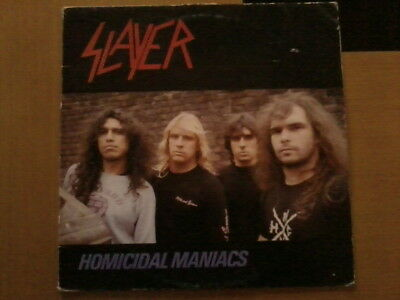 Slayer Homicidal Maniacs Live Vinyl Lp Record Heavy Metal