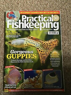Practical Fishkeeping Magazine August 16