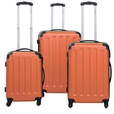 3Pcs Luggage Travel Set Bag w/TSA Lock ABS Trolley Spinner Carry On Suitcase R88