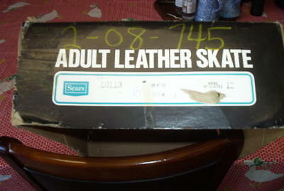 Excalibur  Men's Insulated  ICE SKATES, New, with box.  size 12