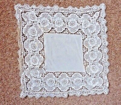 Vintage Small Lace Square