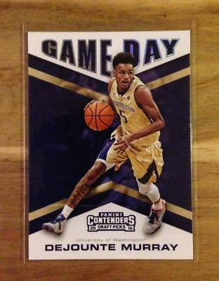 2016-17 Panini Contenders Game Day #15 DEJOUNTE MURRAY