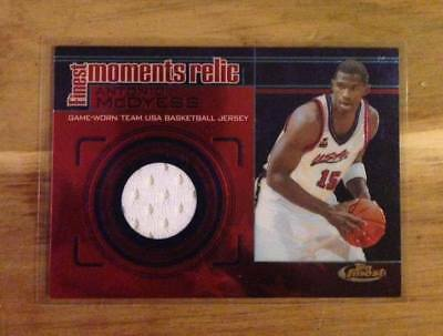 2000-01 Topps Finest Finest Moments Relics ANTONIO McDYESS Jersey