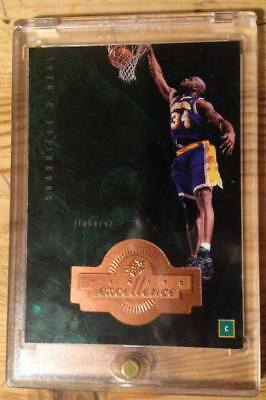 1998-99 SPx Finite #205 SHAQUILLE O'NEAL /1770