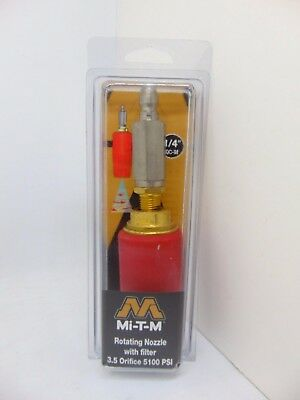 Mi-T-M Rotating Nozzle with Filter 3.5 Orifice 5100 PSI