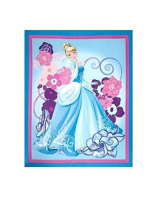 Disney Princess Cinderella Fabric 100/% Cotton Elegance Quilting and Crafts