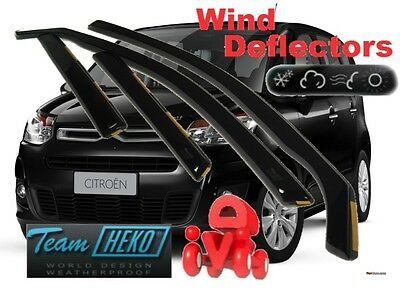 CITROEN C3 PICASSO 2009 -  5.doors  Wind deflectors 4.pc HEKO 12247