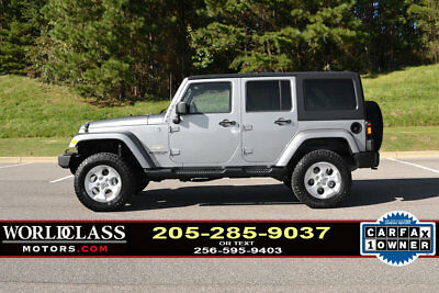 2014 Jeep Wrangler 4WD 4dr Sahara Loaded 1-Owner 2014 Jeep Wrangler Unlimited 4X4 w/leather & NAV, LOW miles! NICE