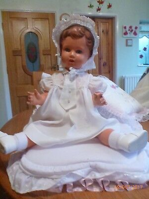 Vintage Celluloid Turle Marked Baby Doll
