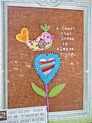 Dimensions Handmade Embroidery Kit - A Heart That Loves
