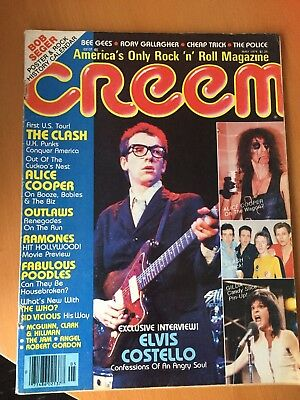 Alice Cooper Creem Magazine May 1979