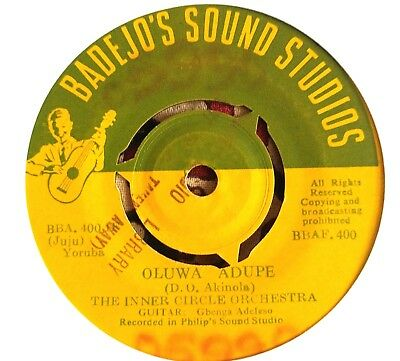 The Inner Circle Orchestra  - Rare Nigeria Juju Afro Highlife *LISTEN*
