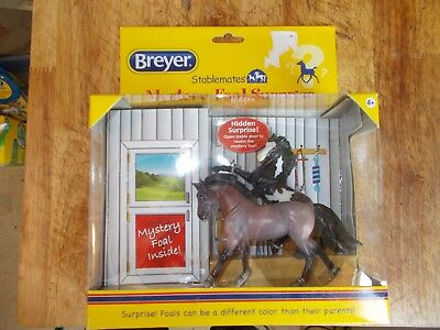 Breyer Stablemates Mystery Foal Surprise Set NIB Rearing Andalusian Warmblood