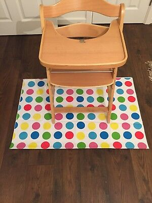 High Chair Splash Mat Heavy Duty *NEW*