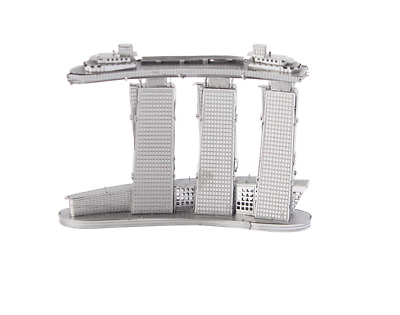 free shipping sands hotel for kids adults 3d metal puzzle Model kit