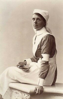 Pc Photo Red Cross Nurse Portrait, WW1