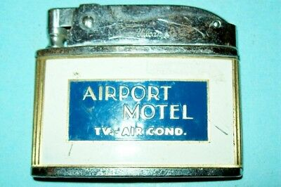Original/Vintage Lighter from the Airport Motel (New Phil OH) by Vulcan Lighters