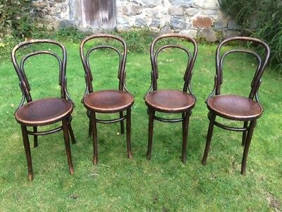Set of Four Vintage Bentwood Chairs