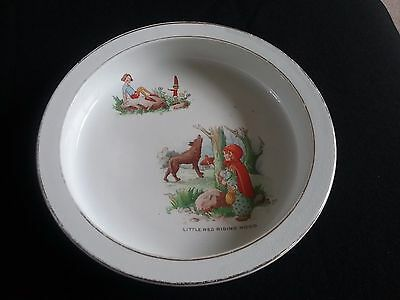Vintage 'little Red Riding Hood Dish
