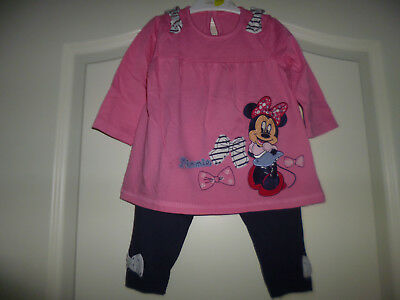 """Disney at George zauberhaftes 2tlg Outfit """"Minnie Mouse"""" GR:3-6 Mon"""