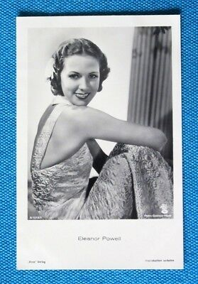 Eleanor Powell Postkarte Postcard Ross Verlag 1930er AK