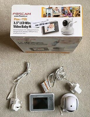 Foscam Digital Video Baby Monitor with Nightvision and Two-Way Audio/Video