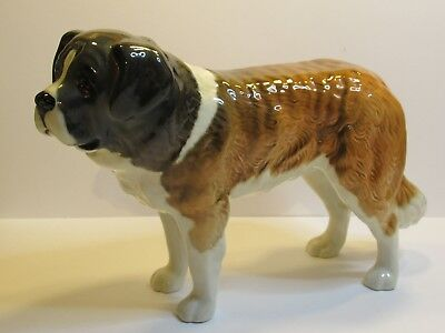 Beswick Dogs Large St Bernard 8 Inches X 5.5 Inches