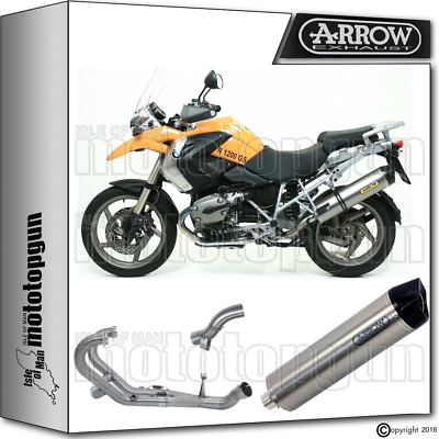 Arrow Full Exhaust Maxi Race-Tech Titanium Carby Cup Hom Bmw R 1200 Gs 2008 08