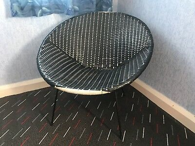 Vintage 1960's Sixties Lounge Moon Chair