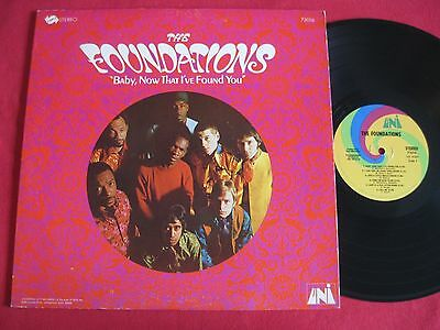 the foundations - baby now that 67 - 1ºlp RARE BRITISH SOUL PSYCH, ORG US EDT,ex