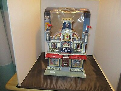 Carole Towne Toy Kingdom Christmas Village Store Games Battery Operated House