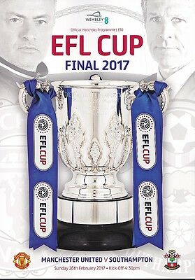 MANCHESTER UNITED v SOUTHAMPTON EFL CUP FINAL 2017