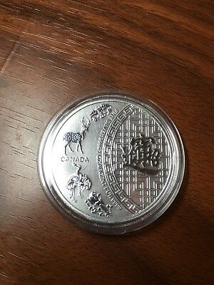 2014 Canada Five 5 BLESSINGS 1 oz Pure .9999 Silver Coin