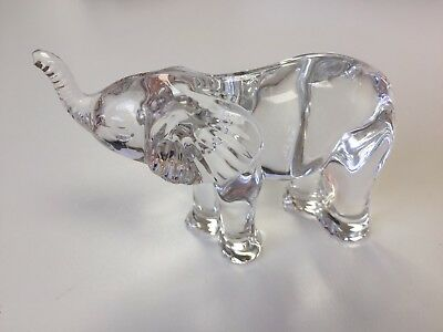 Waterford Crystal Elephant Paper Weight